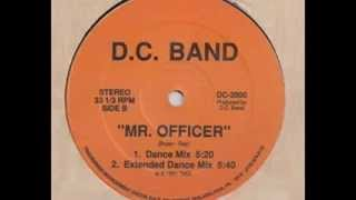 D.C. Band - Mr.  Officer (Dance Mix) - 12 inch - 1991