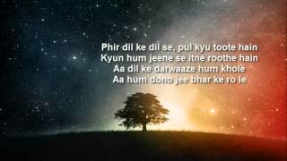 talaash jee le zara lyrics