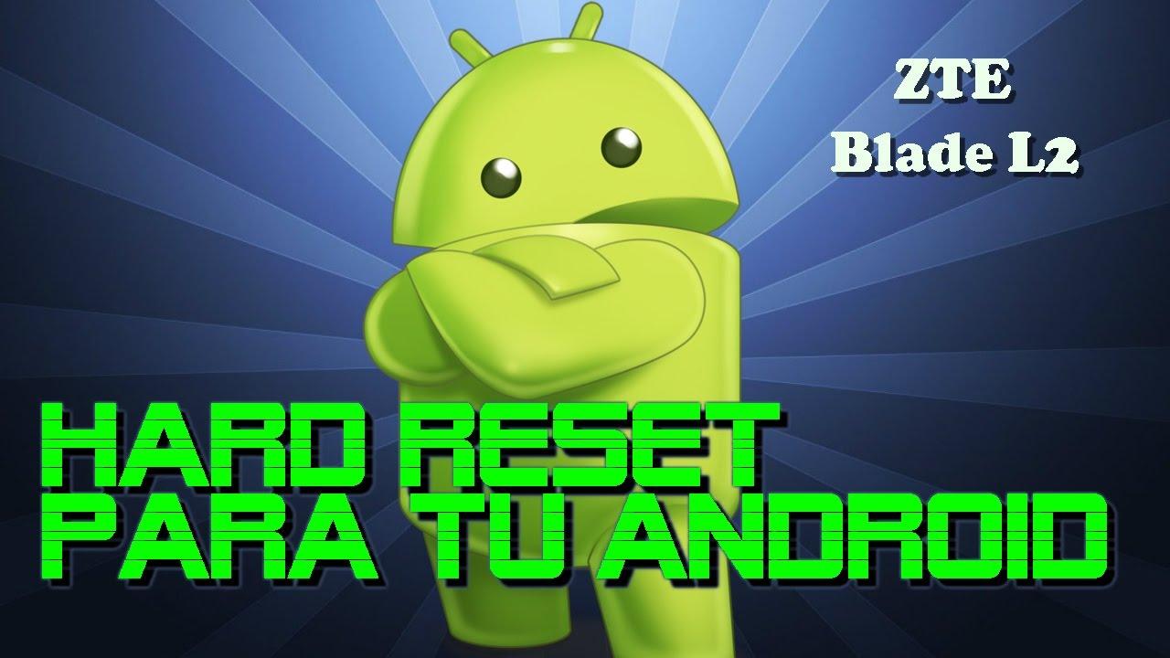 can easily hard reset zte l2 Program