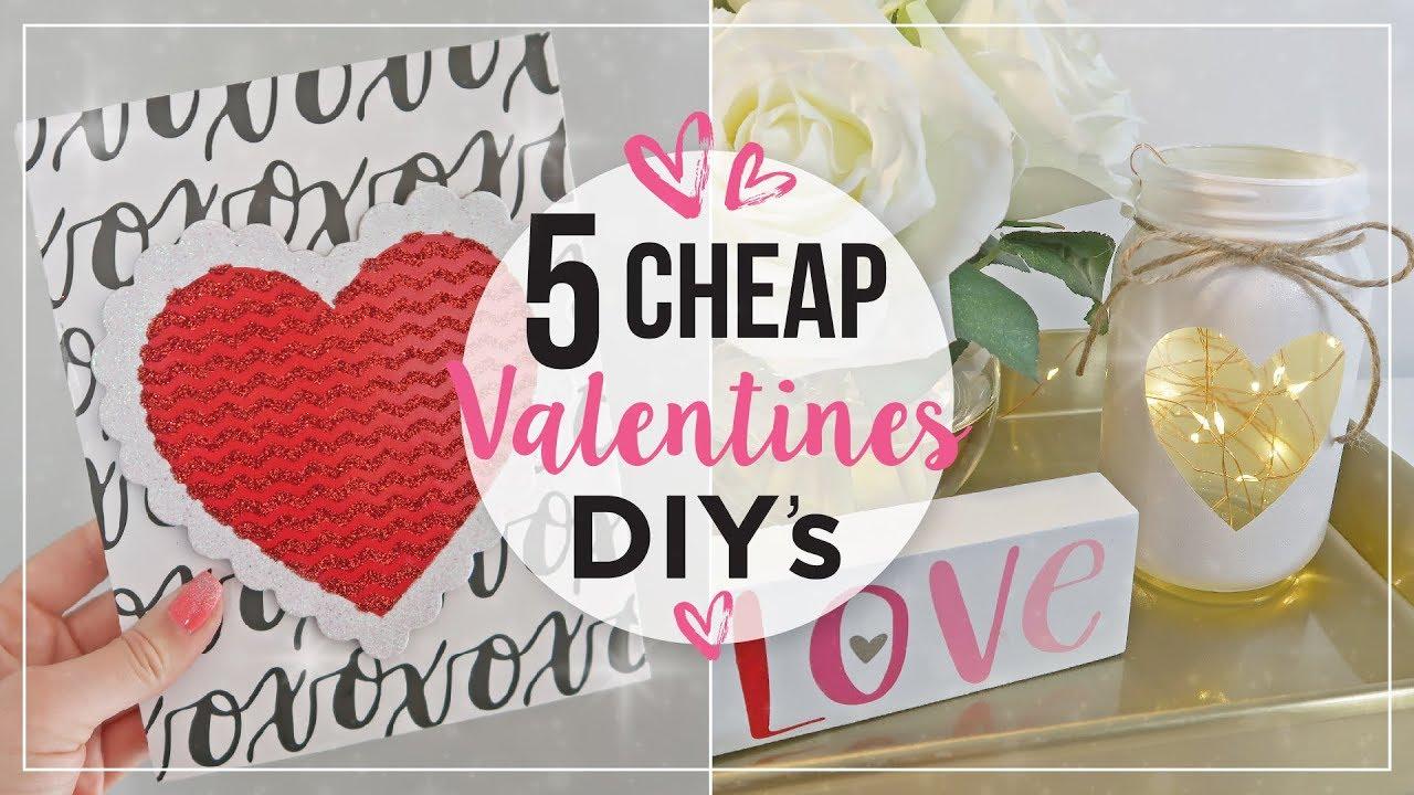Valentines Day Diy Home Decor Ideas Cheap Valentines Day Crafts Diy Valentines Decorations