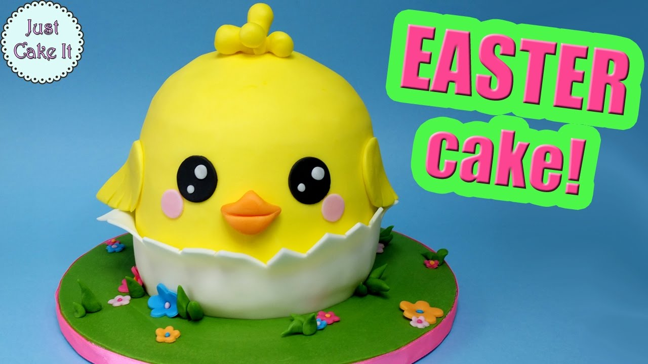 Easter Chicken Cake How To Make Chick Cake Youtube