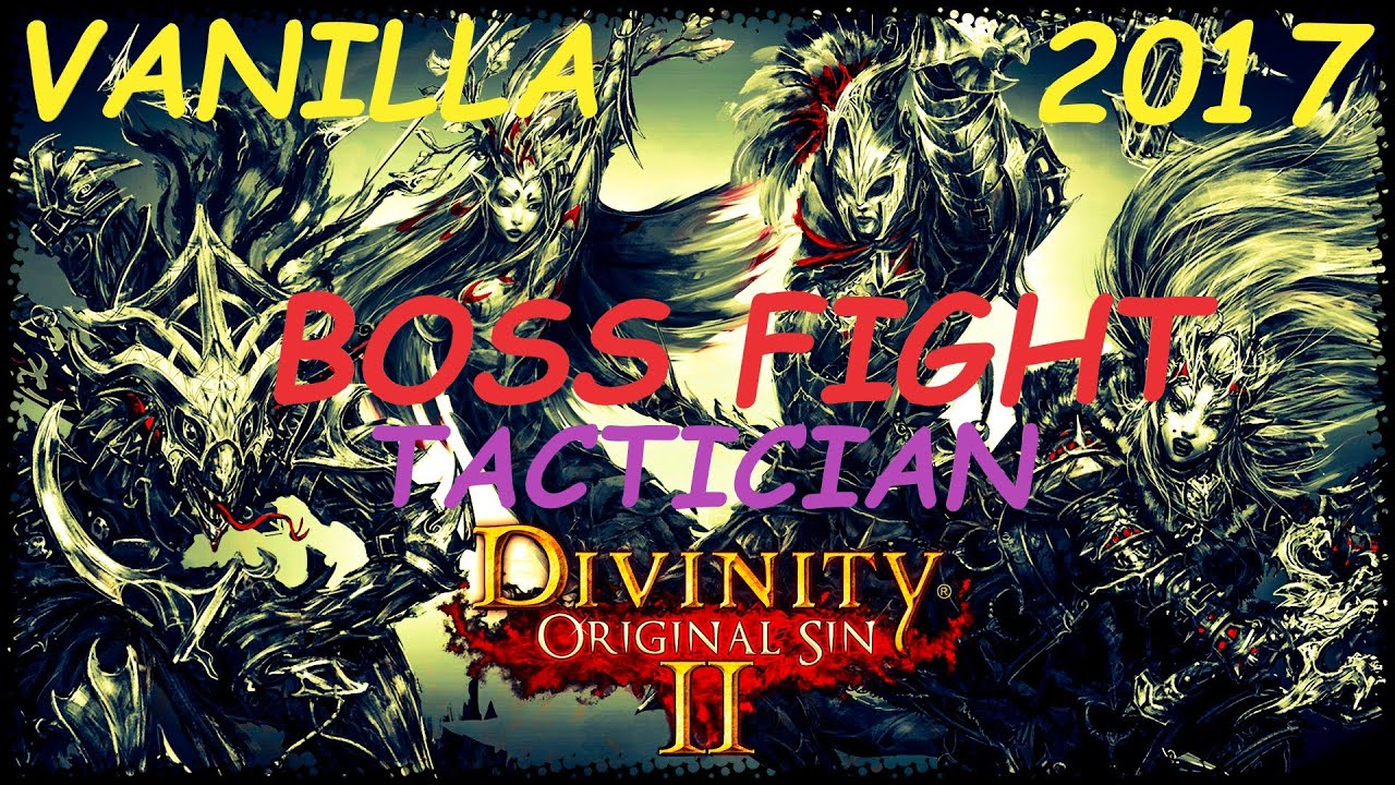 Divinity: Original Sin 2 - Tactician mode - Murga and Captive Deep-dweller  (Arena)
