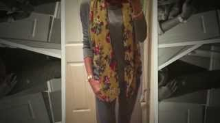 Styling of the Joules Wensley Scarf Thumbnail
