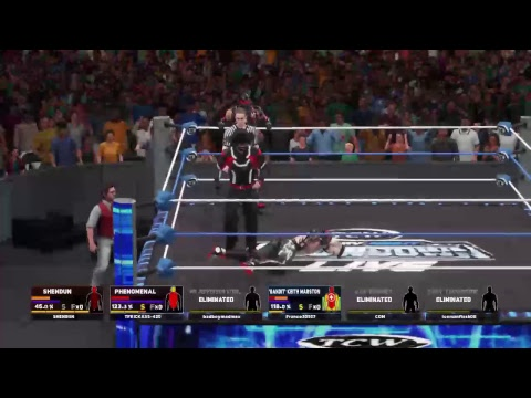 TCW FRIDAYNIGHT LIVE MATCH 1 POWERS OF PAIN VS BULLET EMPIRE CENTER PLUS (2on3)