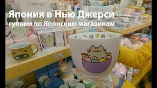 Влог 87 Японские магазины в США Маленькая Япония в Нью Джерси шоппинг
