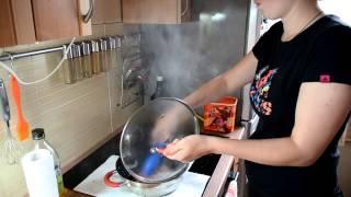 Жарка мяса на индукционной варочной панели(Electrolux EHH6340FOK)(, 2014-06-17T18:55:52.000Z)