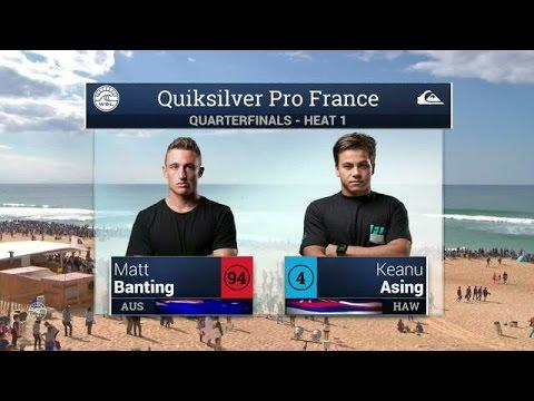 Quiksilver Pro France: Quarterfinals, Heat 1