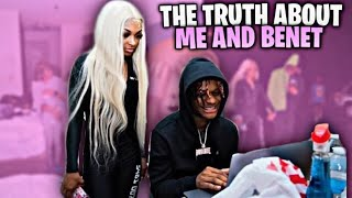 THE TRUTH ABOUT ME AND @Benet Nicole 💔 | SHE GOT A CRUSH | #LLS #LONGLIVESWAVY