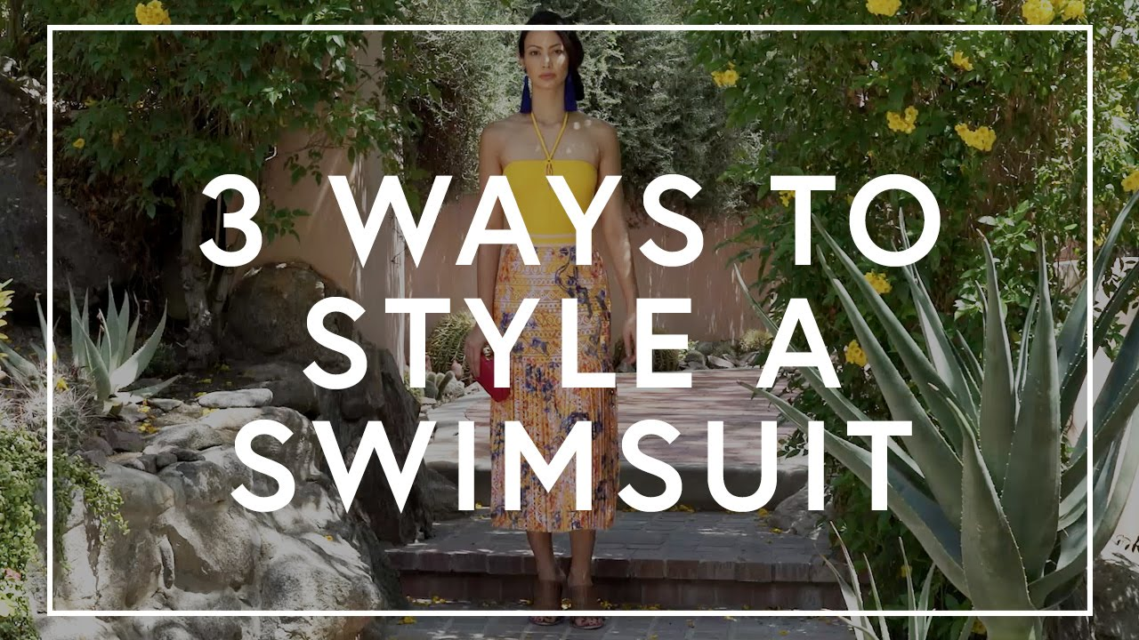 How To Style A Swimsuit | The Zoe Report by Rachel Zoe