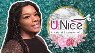 I Got My Brazilian Curly Lace Wig Frm Best Rated Hair Vendor In My City | Unice Hair
