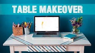 DIY | Table Makeover | Как обновить и покрасить стол