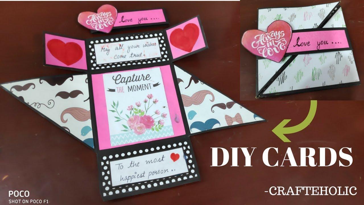 Diy Birthday Cards Handmade Birthday Card Scrapbook Card Ideas Multi Fold Card Youtube Birthday Cards Diy Scrapbook Birthday Cards Handmade Birthday Cards