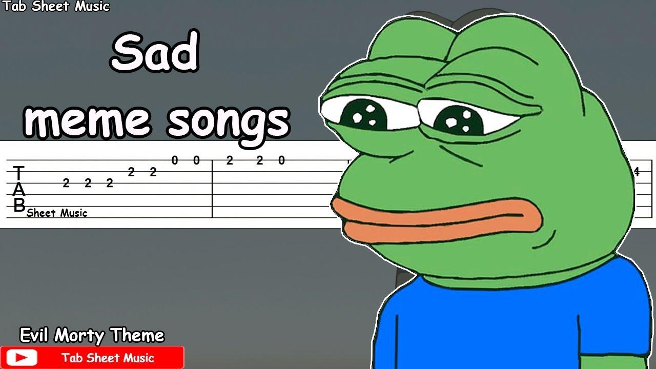 Sad Meme Songs Guitar Tutorial - Guitar Academies