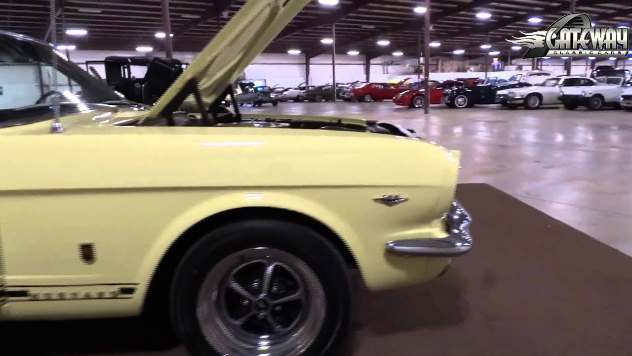 1966 ford mustang stock 626 located in our louisville ky showroom youtube. Black Bedroom Furniture Sets. Home Design Ideas