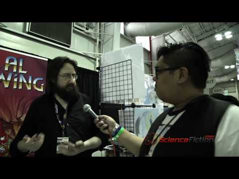 Al Ewing Interview Part 1/2 - New York Comic Con 2016