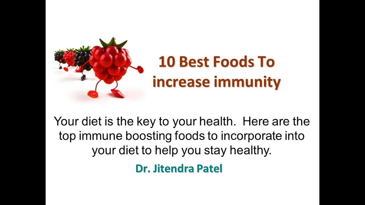 health 10 best foods to increase immunity