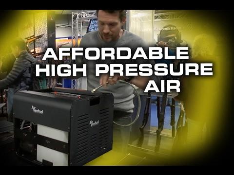 DIY Air Compressor for your Air RIfles! - SHOT Show 2017