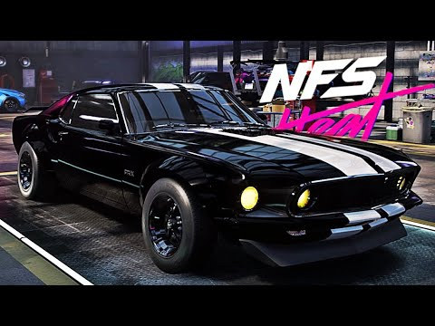 Nfs Heat Ford Mustang 1969 Customization Youtube