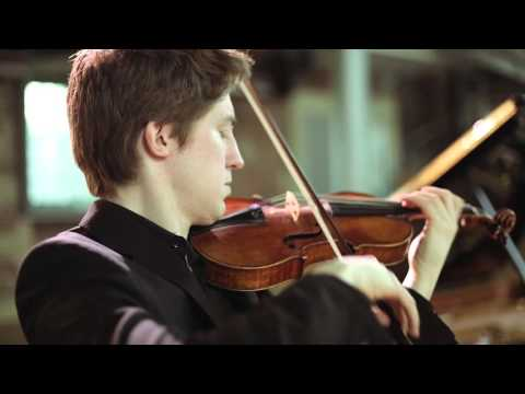 Foyle-Štšura Duo play Brahms - Michael Foyle, violin and Maksim Štšura, piano