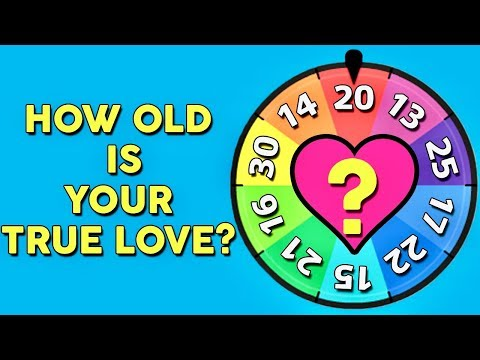 How Old Is Your True Love? Love Personality Quiz | Mister Test
