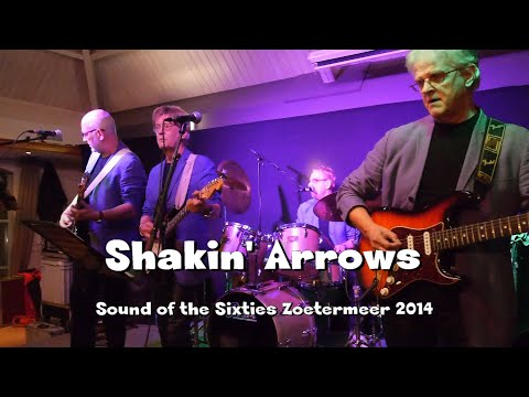 The Shakin Arrows  - Sound of the Sixties nov. 2014