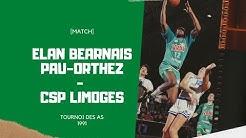 Finale Tournoi des As 1991 -  Pau-Orthez - Limoges