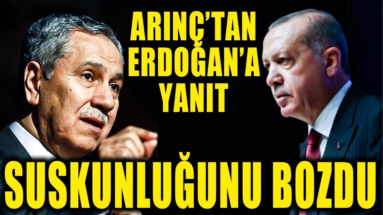 Bülent Arınç'tan Erdoğan'a sitem: Beni çok rencide etti