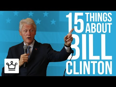 15 Things You Didn't Know About Bill Clinton