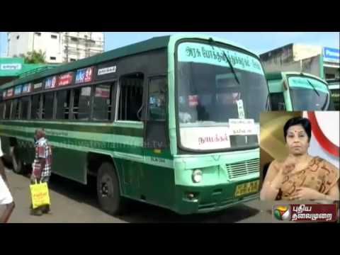 Two government buses confiscated from Namakkal bus stand