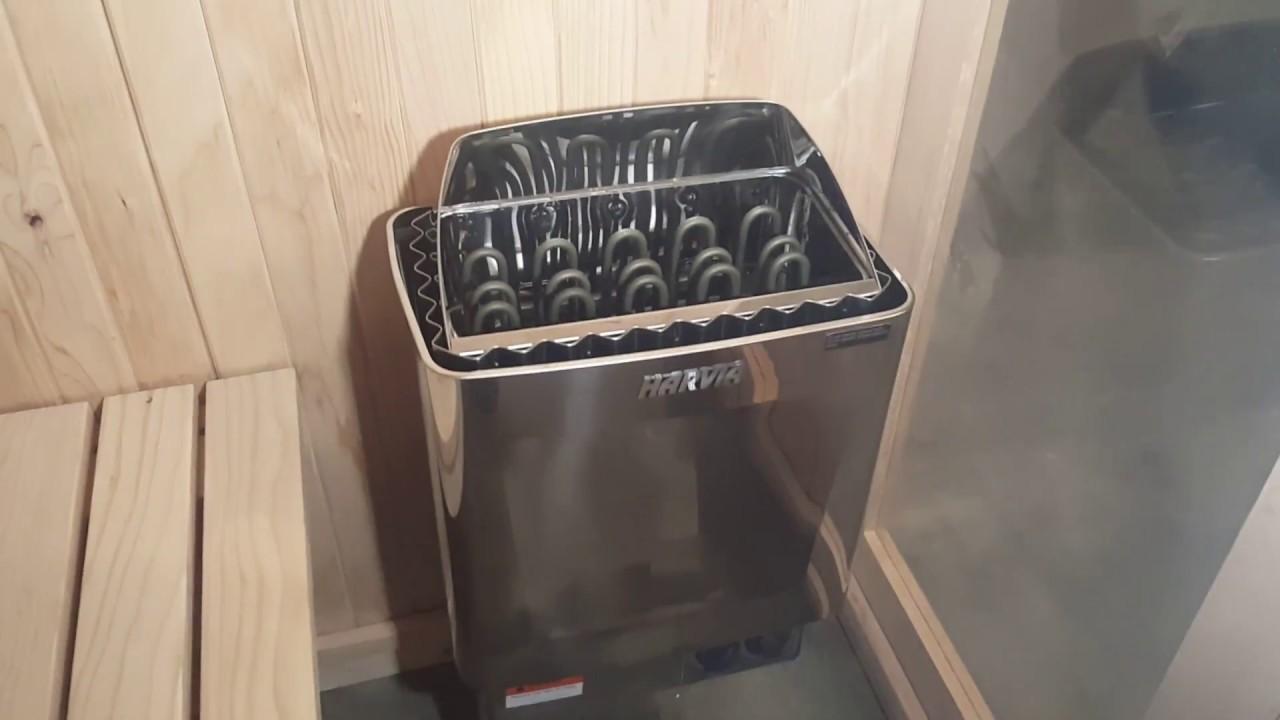 sauna heater installation 240 volt  [ 1280 x 720 Pixel ]
