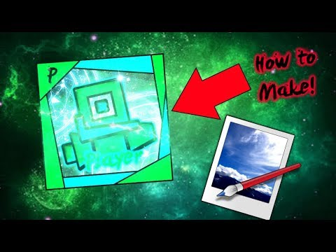How To Make A Geometry Dash Profile Picture! (No Photoshop!)