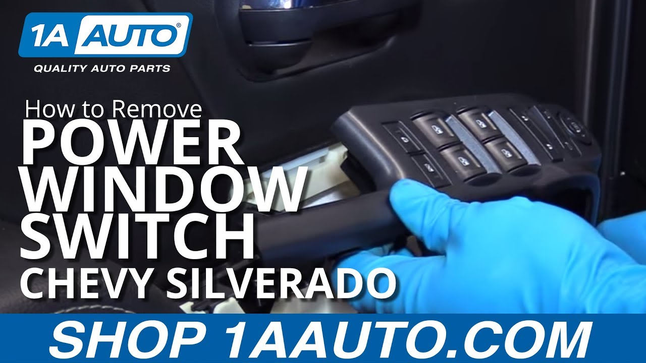Car Power Window Switch Repair