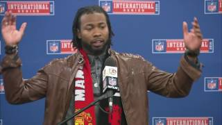 Josh Norman Goes Off on Referee in Postgame Press Conference | Redskins vs. Bengals | NFL in London