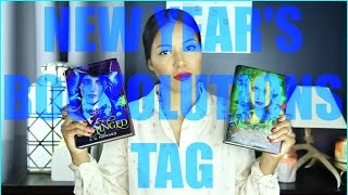 THE NEW YEAR'S BOOKOLUTIONS TAG Thumbnail