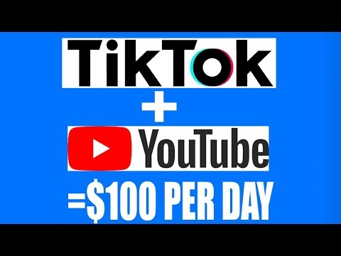 Make $100 Per Day on Tik Tok And Youtube Without Making Videos