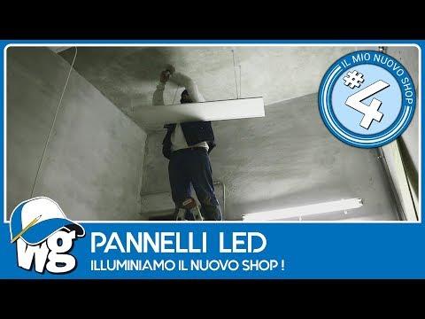Pannelli led per illuminare il nuovo laboratorio Лучшие приколы