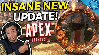 New Apex Legends Update Notes and Solo Gameplay! RE-45 BUFF, Bloodhound Buff, New Map and Skins!