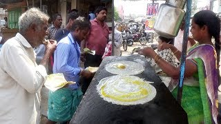 Extremely Loaded Egg Dosa Compilation | World's Best Egg Dishes | Indian Street Food