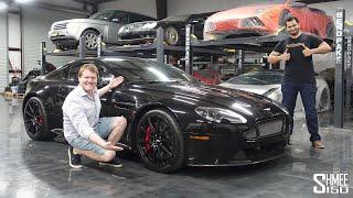 I Delivered Tavarish's New Aston Martin V12 Vantage S!