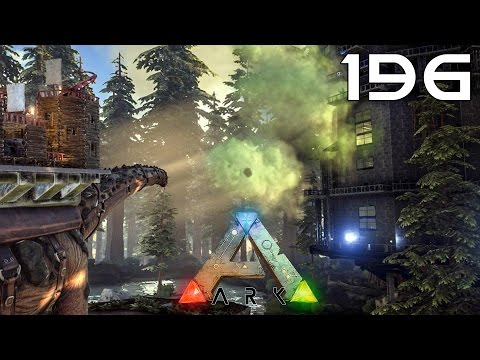 ARK Survival Evolved [#196] Redwood Biome, Platformy, Żywica, Drabinki, TITANOSAUR!