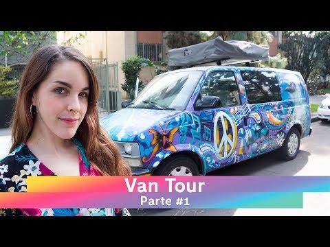 ¿Estoy viviendo en una FURGONETA? 🚐Así es cómo me organizo - VAN TOUR #1 | VLOG