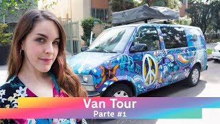 Am I living in a VAN? 🚐 That's how I organize myself - VAN TOUR # 1 | VLOG