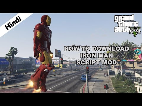 Iron Man Mod - How To Download & Install (Hindi) For GTA V