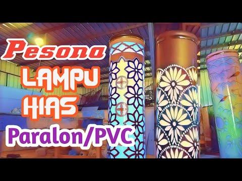 Pesona lampu hias paralon/pvc part 2 || Paralon /pvc decorative lighting charm part 2