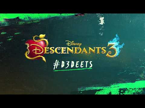 #D3 Deets: Uma, Harry, & Gil  Descendants 3