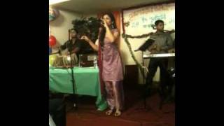 Bangladeshi singer Popy in Paterson