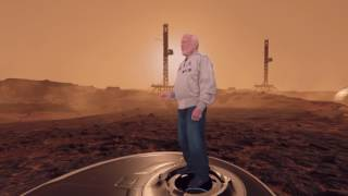 """Behind the Scenes: """"Buzz Aldrin: Cycling Pathways to Mars"""" VR Experience"""