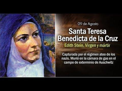 Teresa Benedicta De La Cruzsanta Maestra De La Cruz 9 De Agosto