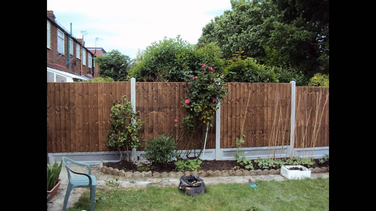 Garden fence panels youtube garden fence panels baanklon Choice Image