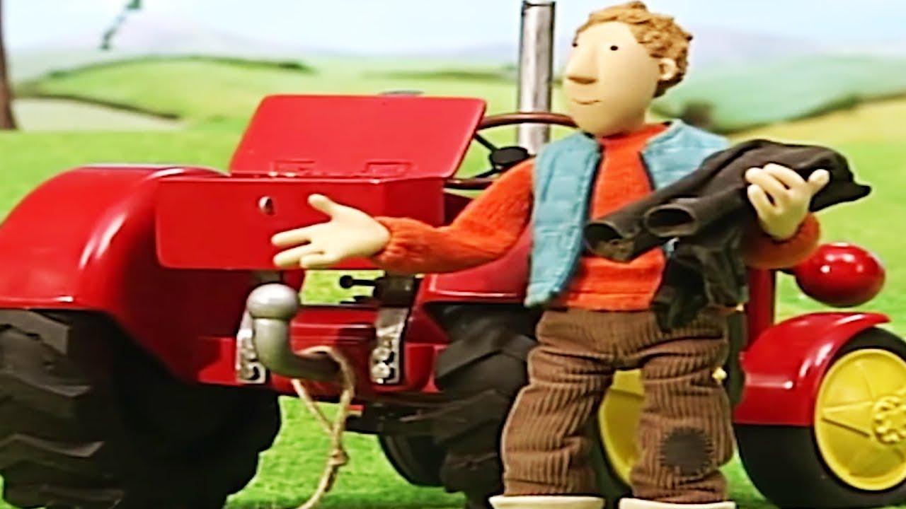 Kleiner Roter Traktor Der Zauberhut Cartoon Ganze